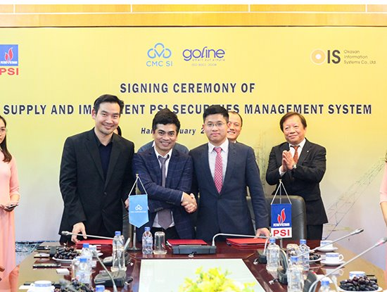 CMC SI and Goline joint hand for investment contract of PSI Core securities system