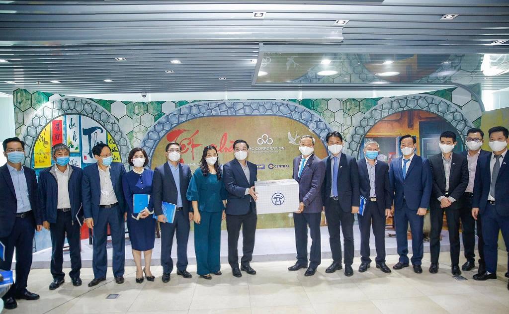 CMC cam kết đồng hành cùng TP Hà Nội chuyển đổi số và xây dựng thành phố thông minh