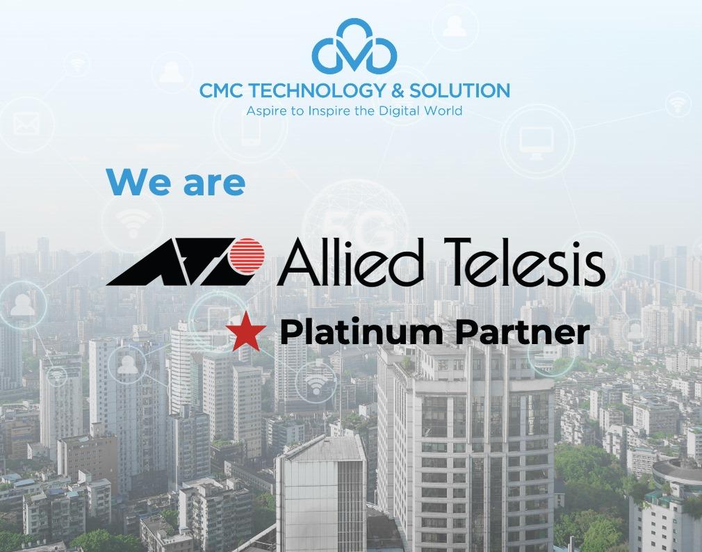 CMC TS trở thành đối tác Platinum của Allied Telesis tại Việt Nam