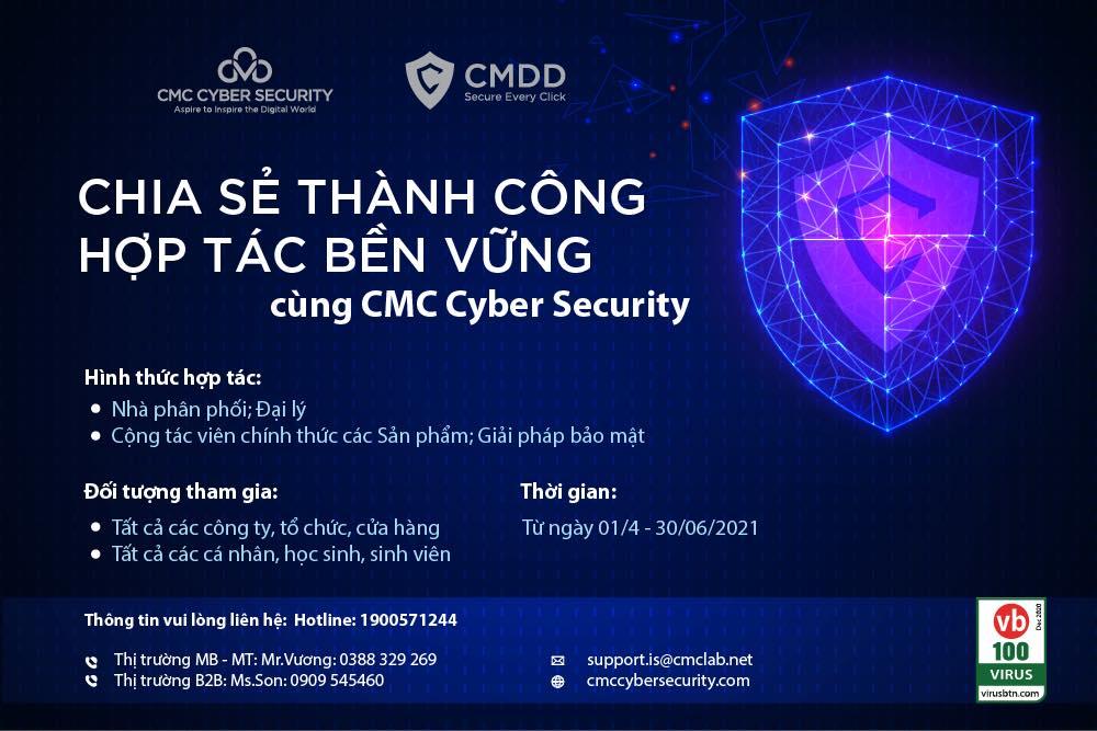 Chia sẻ thành công và Hợp tác bên vững cùng CMC Cyber Security
