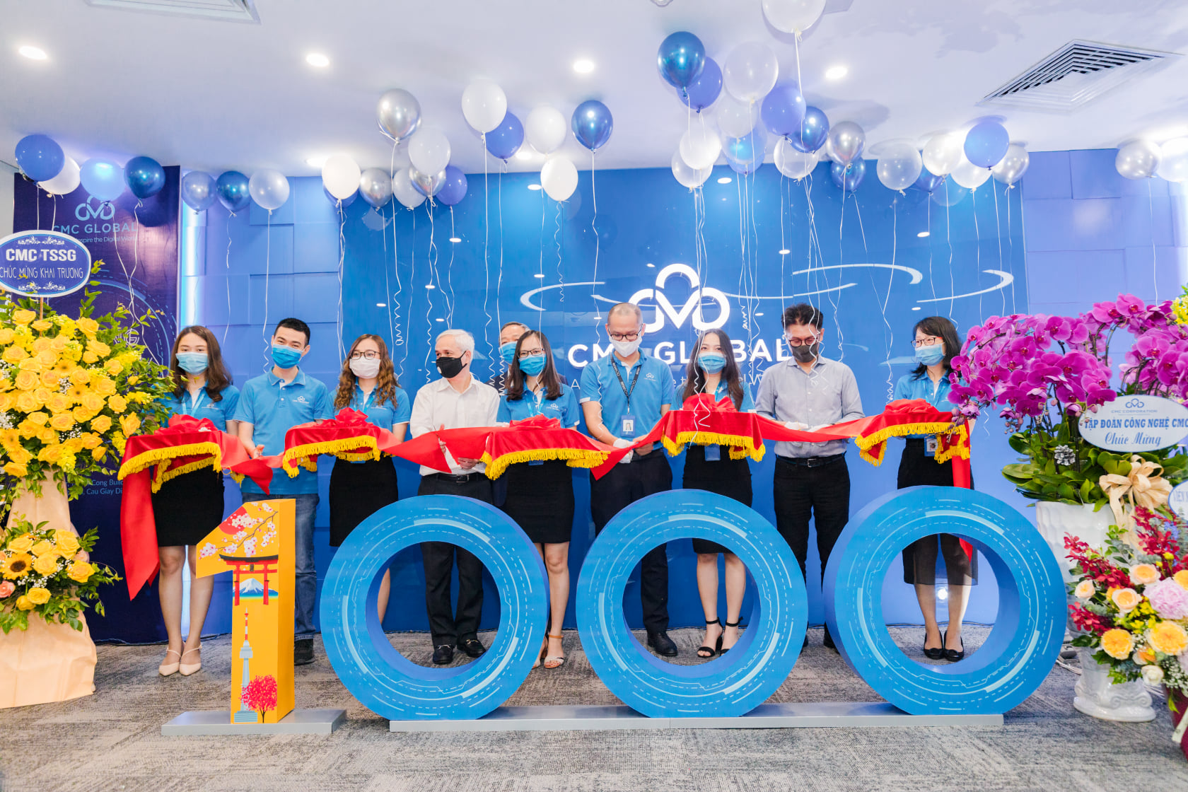 CMC Global Khai trương văn phòng mới tại Hà Nội