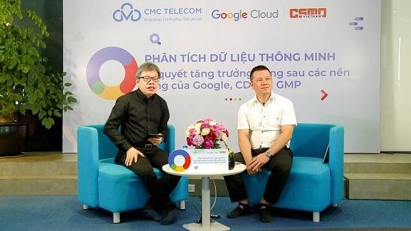 CMC Telecom livestream về nền tảng Marketing của Google, cơ hội cho doanh nghiệp Việt