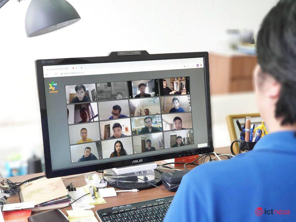 """CMC TS tham gia liên minh CoMeet cung cấp giải pháp họp trực tuyến """"Made in Vietnam"""""""