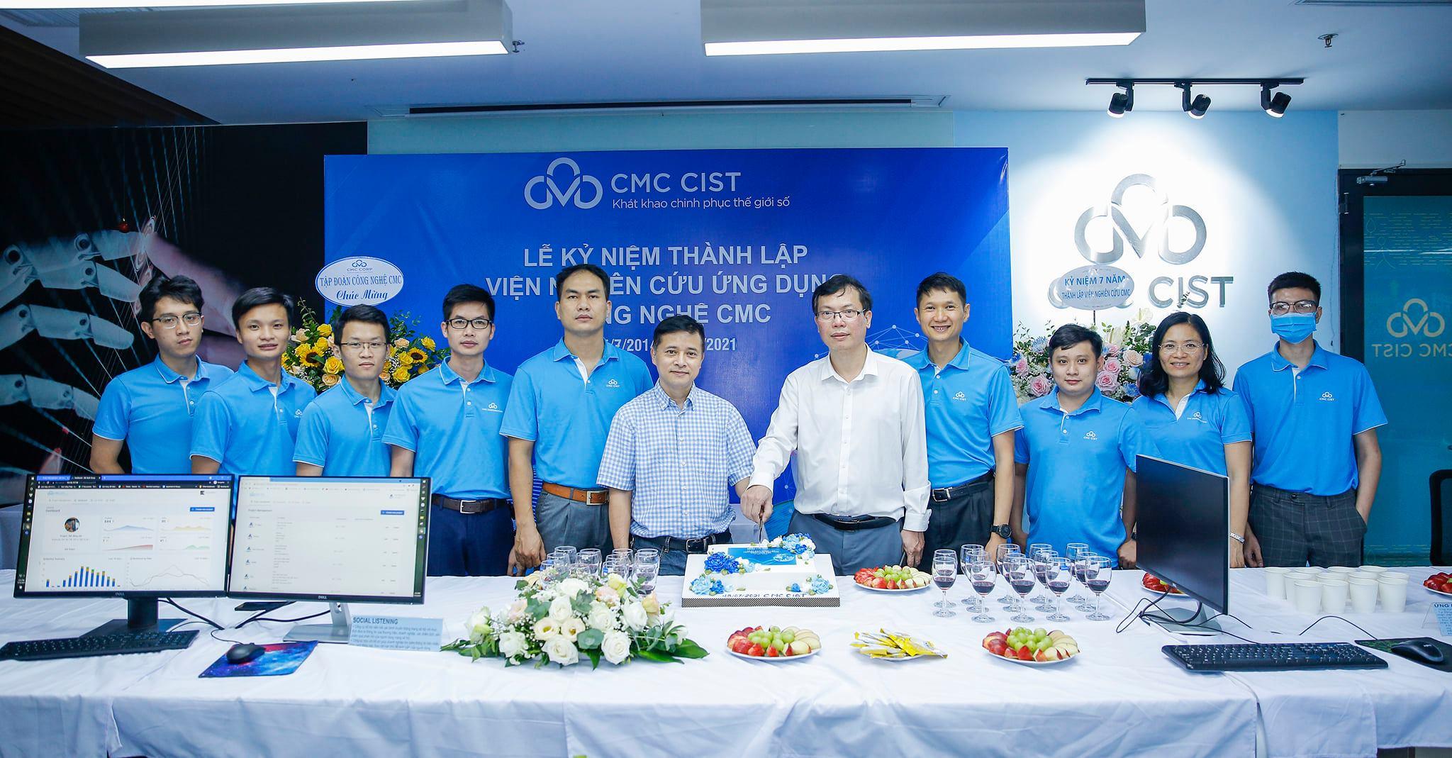 Viện Nghiên cứu Ứng dụng Công nghệ CMC kỷ niệm 7 năm thành lập