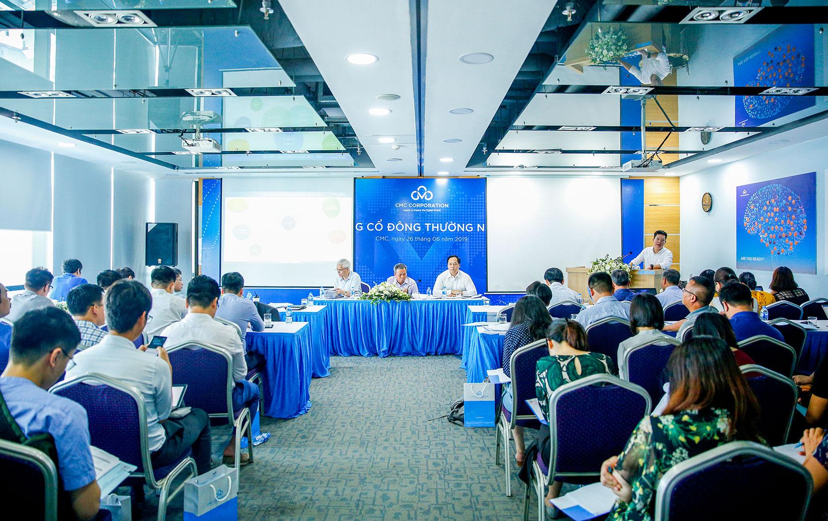 CMG: Thư mời họp và tài liệu họp Đại hội đồng cổ đông bất thường năm 2019