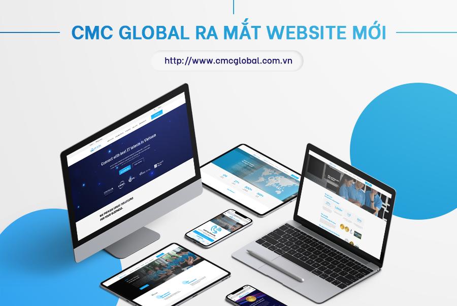 CMC Global chính thức ra mắt website phiên bản mới