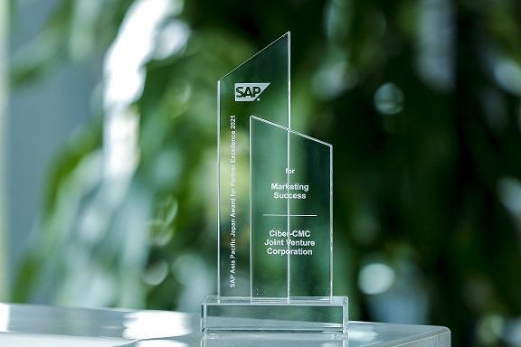 CMC Ciber là công ty Việt Nam duy nhất nhận giải thưởng đối tác xuất sắc của SAP ở khu vực Châu Á Thái Bình Dương & Nhật Bản