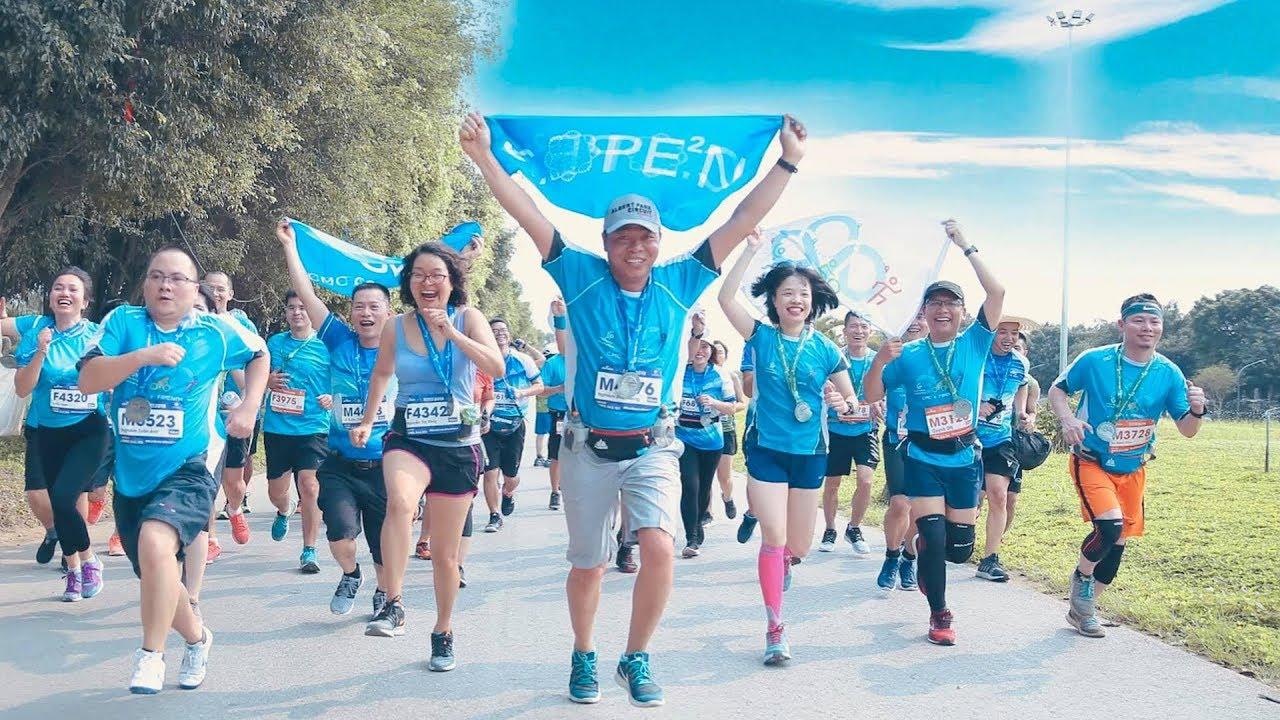 CMC Ecopark Marathon chạy giữa miền xanh ngày 14/4/2019