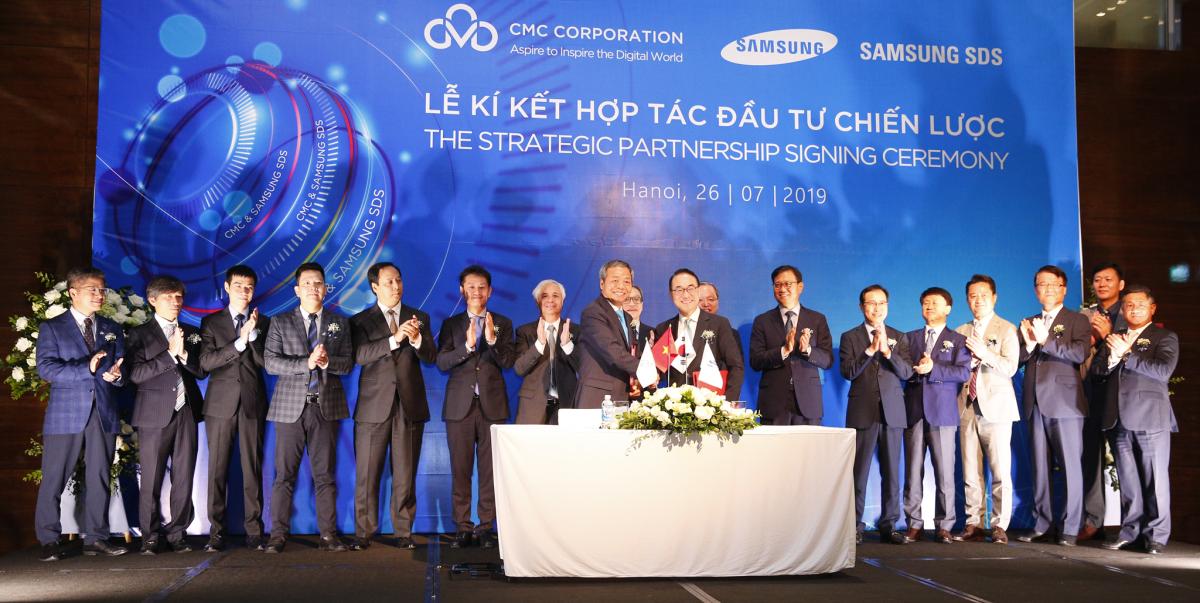 Samsung SDS đầu tư chiến lược vào Tập đoàn CMC